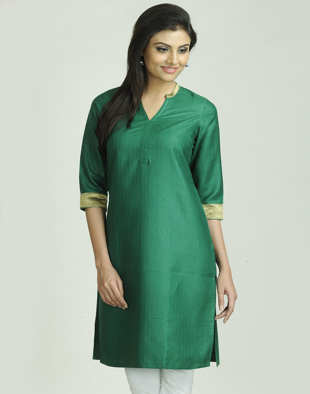 Latest Women Best Kurti Designs Collection For Winter by Fabindia 2015-2016 (33)