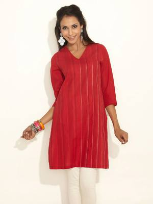 Latest Women Best Kurti Designs Collection For Winter by Fabindia 2015-2016 (4)
