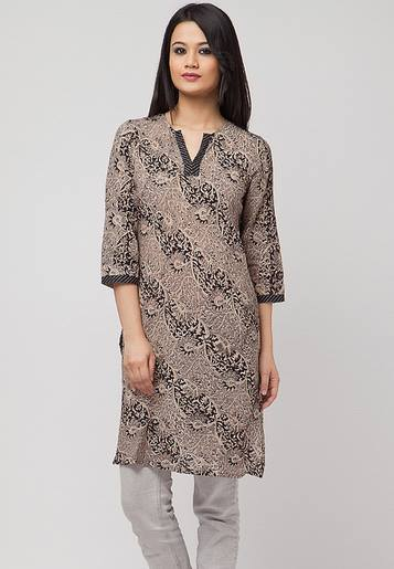 Latest Women Best Kurti Designs Collection For Winter by Fabindia 2015-2016 (5)
