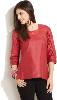Latest Women Best Kurti Designs Collection For Winter by Fabindia 2015-2016 (8)
