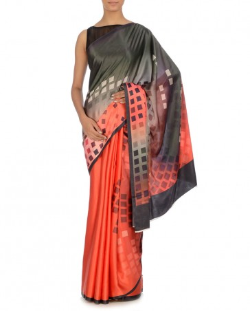 New Satya Paul Best Indian Designer Saree Collection for Women 2015-2016 (1)