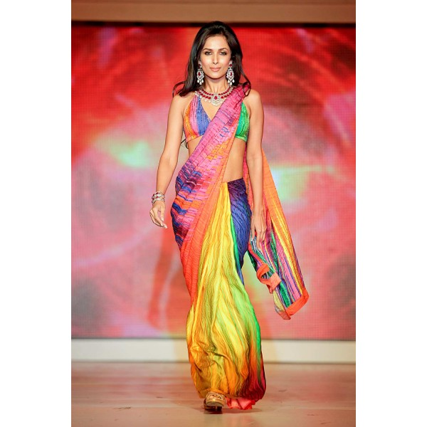 New Satya Paul Best Indian Designer Saree Collection for Women 2015-2016 (13)