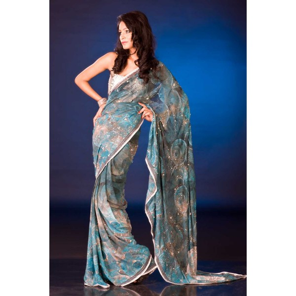 New Satya Paul Best Indian Designer Saree Collection for Women 2015-2016 (14)