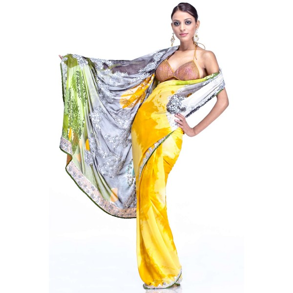 New Satya Paul Best Indian Designer Saree Collection for Women 2015-2016 (17)