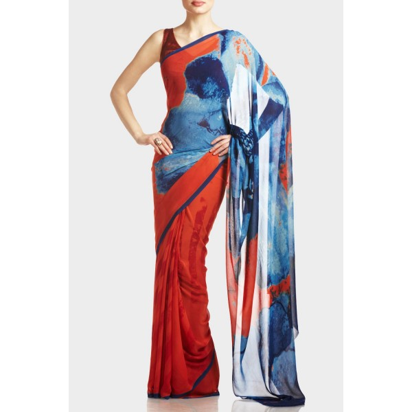 New Satya Paul Best Indian Designer Saree Collection for Women 2015-2016 (19)
