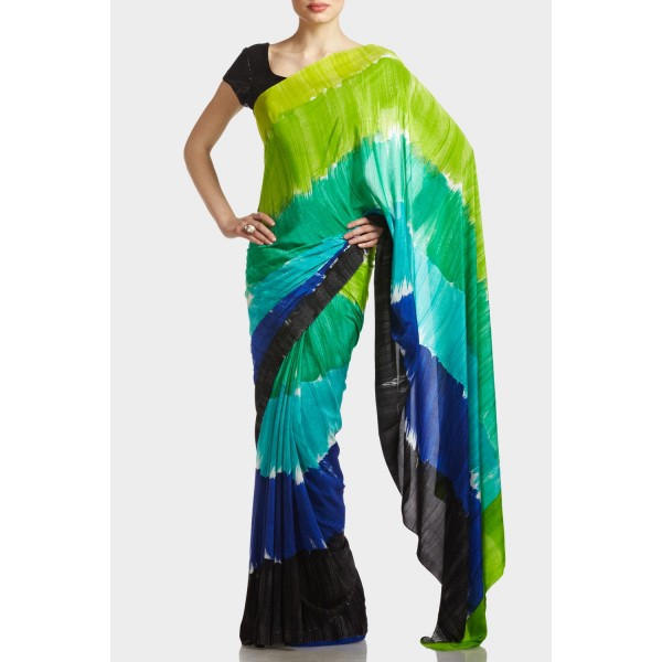 New Satya Paul Best Indian Designer Saree Collection for Women 2015-2016 (21)