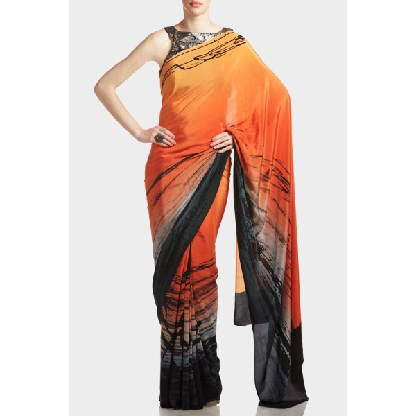 New Satya Paul Best Indian Designer Saree Collection for Women 2015-2016 (22)