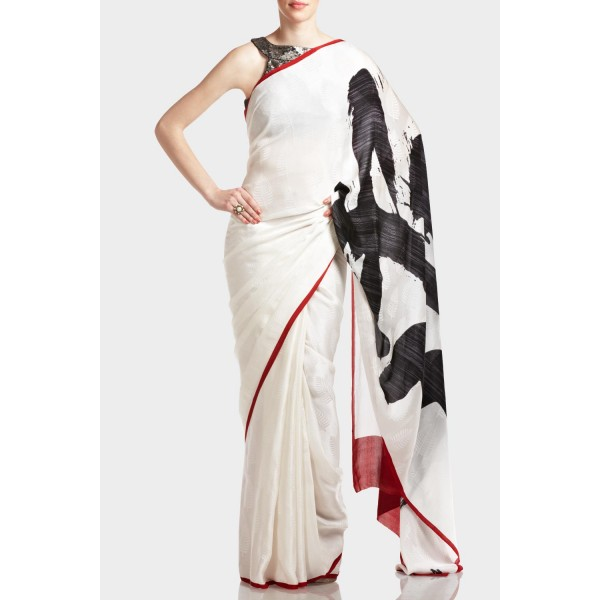 New Satya Paul Best Indian Designer Saree Collection for Women 2015-2016 (23)