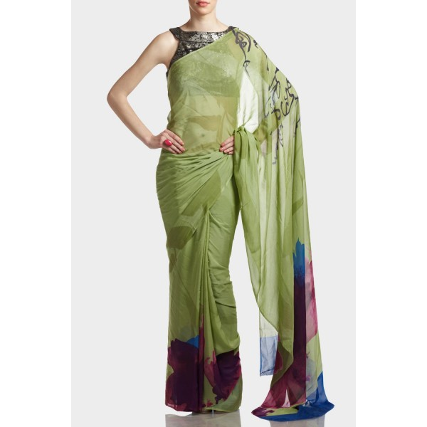 New Satya Paul Best Indian Designer Saree Collection for Women 2015-2016 (28)