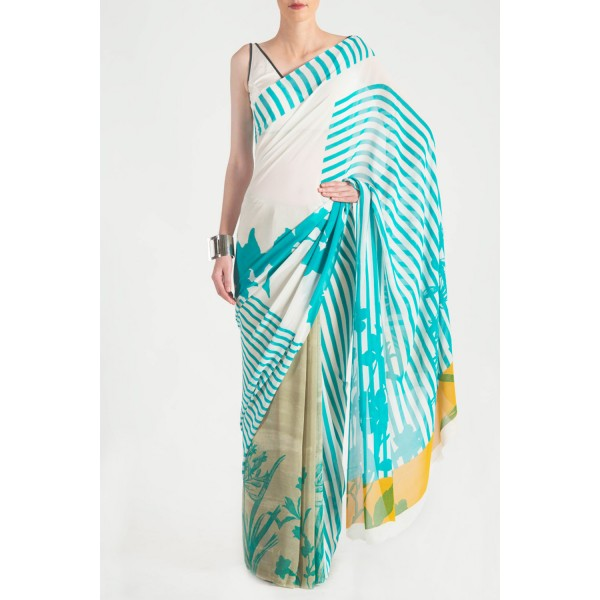 New Satya Paul Best Indian Designer Saree Collection for Women 2015-2016 (29)