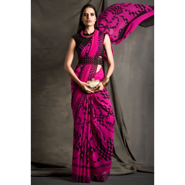 New Satya Paul Best Indian Designer Saree Collection for Women 2015-2016 (30)