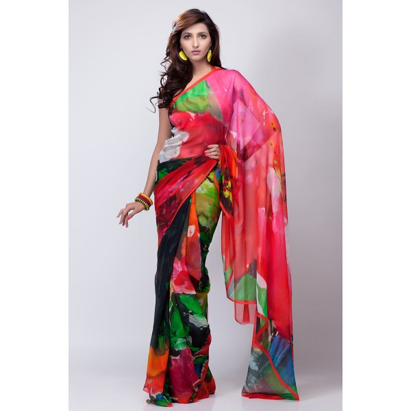 New Satya Paul Best Indian Designer Saree Collection for Women 2015-2016 (34)