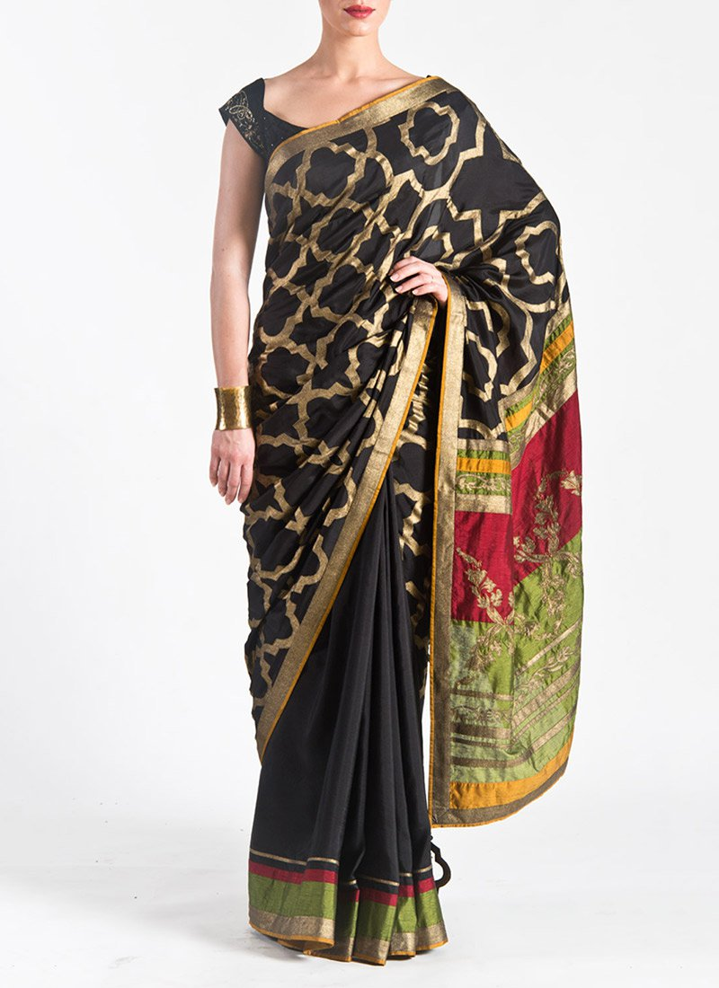 New Satya Paul Best Indian Designer Saree Collection for Women 2015-2016 (4)