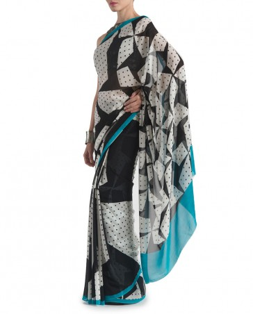 New Satya Paul Best Indian Designer Saree Collection for Women 2015-2016 (7)
