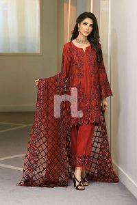 beautiful red winter formal dress
