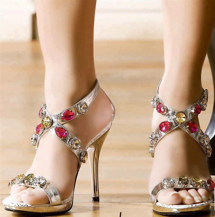 Latest Best Party Wear Shoes & Heels for Women