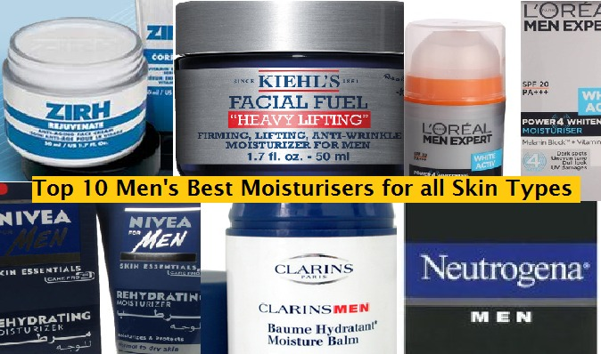 Top 10 BestMmen's Skin Moisturisers of all time