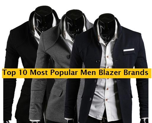 Top 10 Men Blazer Brands of the year