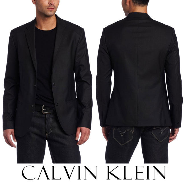 Top 10 Most Popular Men Blazers of all Time - Best selling Brands - calvin klein (1)