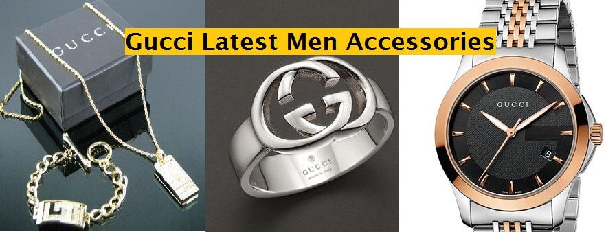 gucci latest men accessories collection 2014-2015