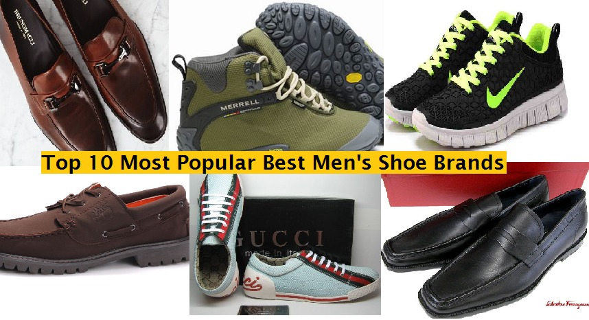top 10 men best shoe brands of the year