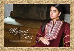 Al Karam Glamorous Winter Dresses Collection for Women 2014-2015