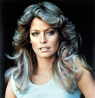 Farrah Fawcett's Feathered Flip Top 10 Most Popular Female Celebrity Hairstyles of all Time - Hit List
