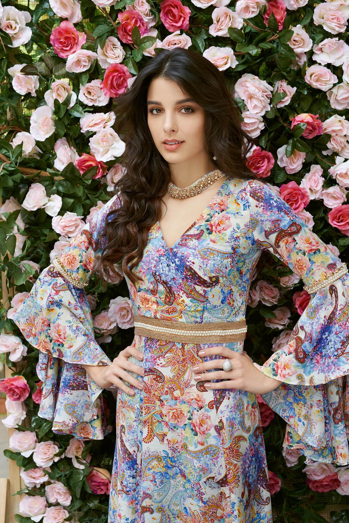 Gul Ahmed Summer Formal Dresses Silk & Chiffon Premium Collection 2017-18 (5)