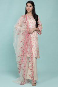 Kayseria Summer Embroidered Embellished Dresses for Women