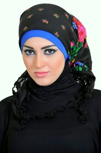 Latest Hijab Styles & Designs Tutorial with Pictures for Modern Girls 2015 (18)