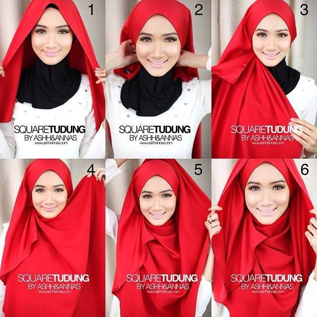 Latest Hijab Styles & Designs Tutorial with Pictures for Modern Girls 2015 (23)