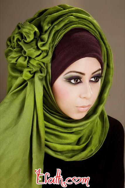 Latest Hijab Styles & Designs Tutorial with Pictures for Modern Girls 2015 (24)