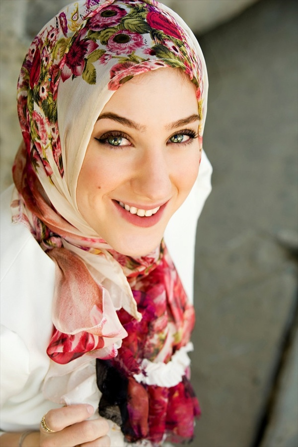 Latest Hijab Styles & Designs Tutorial with Pictures for Modern Girls 2015 (27)