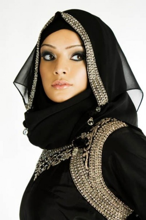 Latest Hijab Styles & Designs Tutorial with Pictures for Modern Girls 2015 (31)