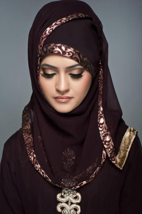 Latest Hijab Styles & Designs Tutorial with Pictures for Modern Girls 2015 (32)