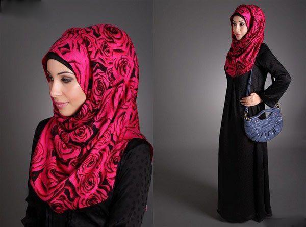 Latest Hijab Styles & Designs Tutorial with Pictures for Modern Girls 2015 (37)