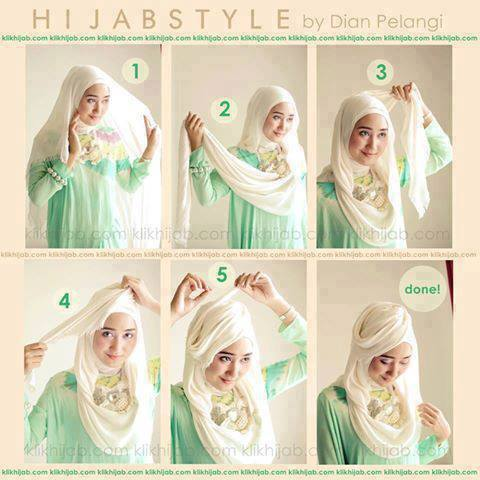 Latest Hijab Styles & Designs Tutorial with Pictures for Modern Girls 2015 (42)