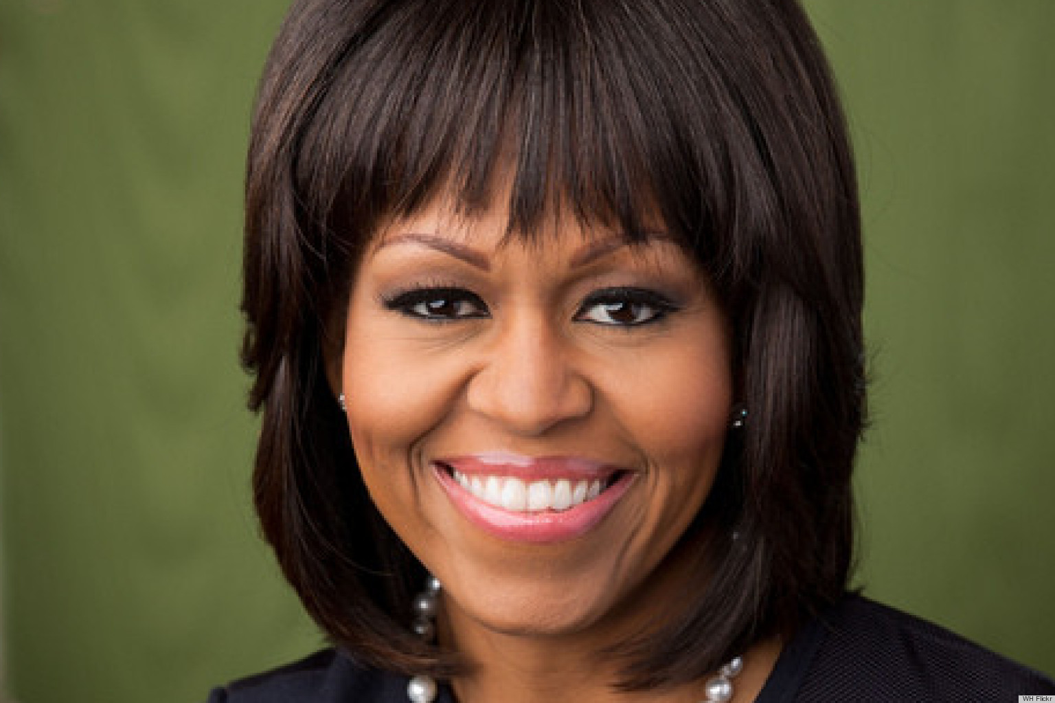 Michelle Obama's Classic Cut Top 10 Most Popular Female Celebrity Hairstyles of all Time - Hit List