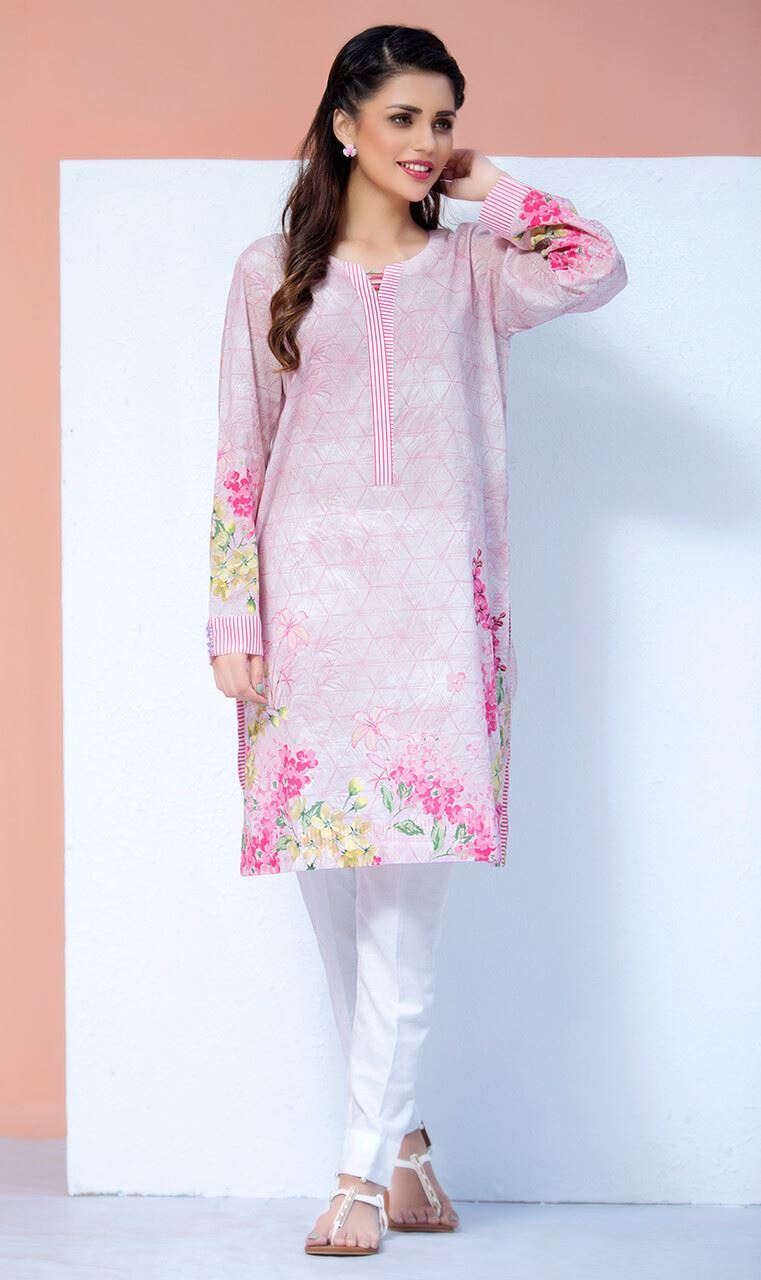 Latest Khaadi winter dresses collection for women consists of unstitched two and three piece dresses having delicate embroideries and prints.