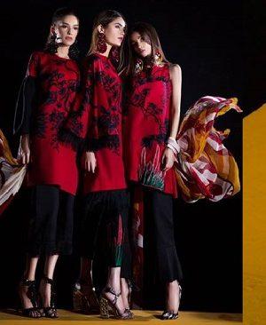 Sana Safinaz Winter Dresses Muzlin Collection 2017-2018