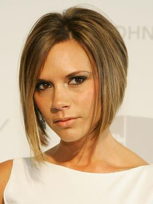 Victoria Beckham's Posh Pageboy Top 10 Most Popular Female Celebrity Hairstyles of all Time - Hit List