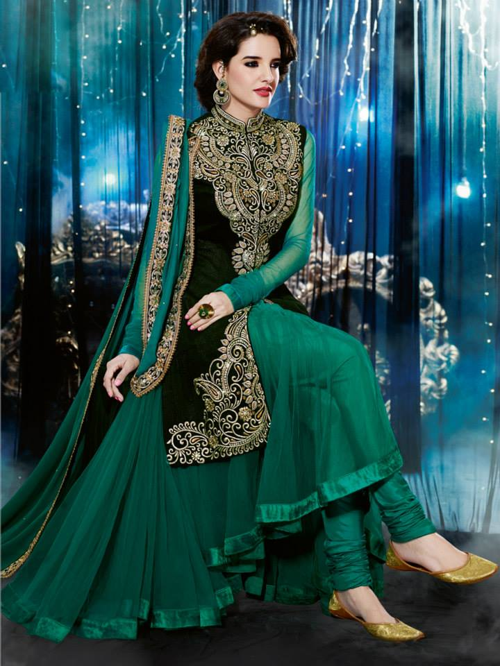latest-Natasha-Couture-beautiful-party-wear-Anarkali-Suits-(2014-2015) (21)