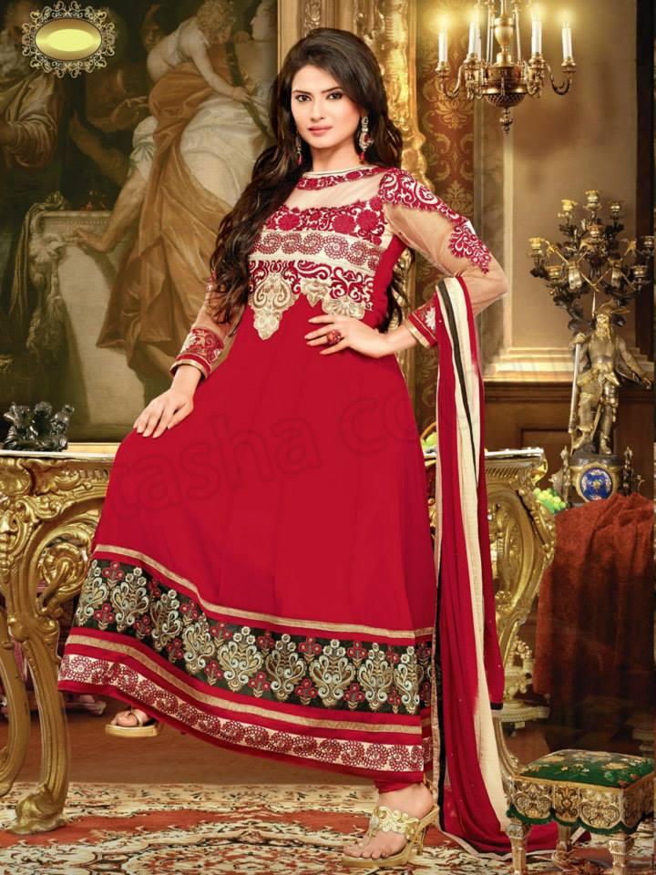 latest-Natasha-Couture-beautiful-party-wear-Anarkali-Suits-(2014-2015) (35)