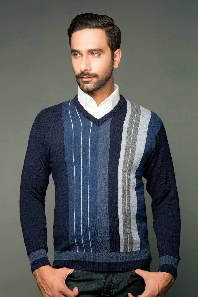 Bonanza Latest Winter Warmth Collection of Sweaters, Jackets & Coats 2014-2015 for Men & Boys (11)