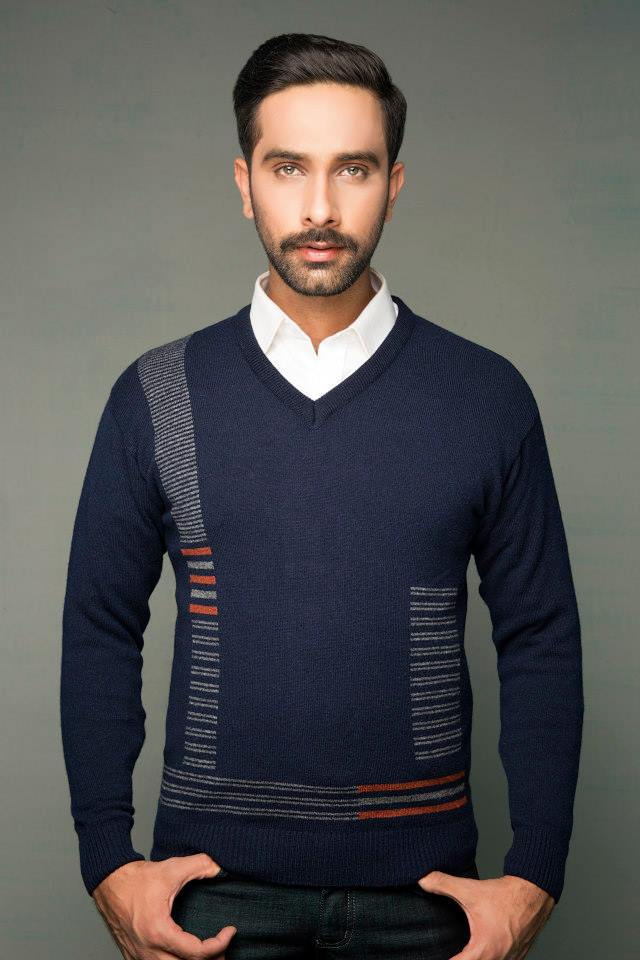 Bonanza Latest Winter Warmth Collection of Sweaters, Jackets & Coats 2014-2015 for Men & Boys (12)