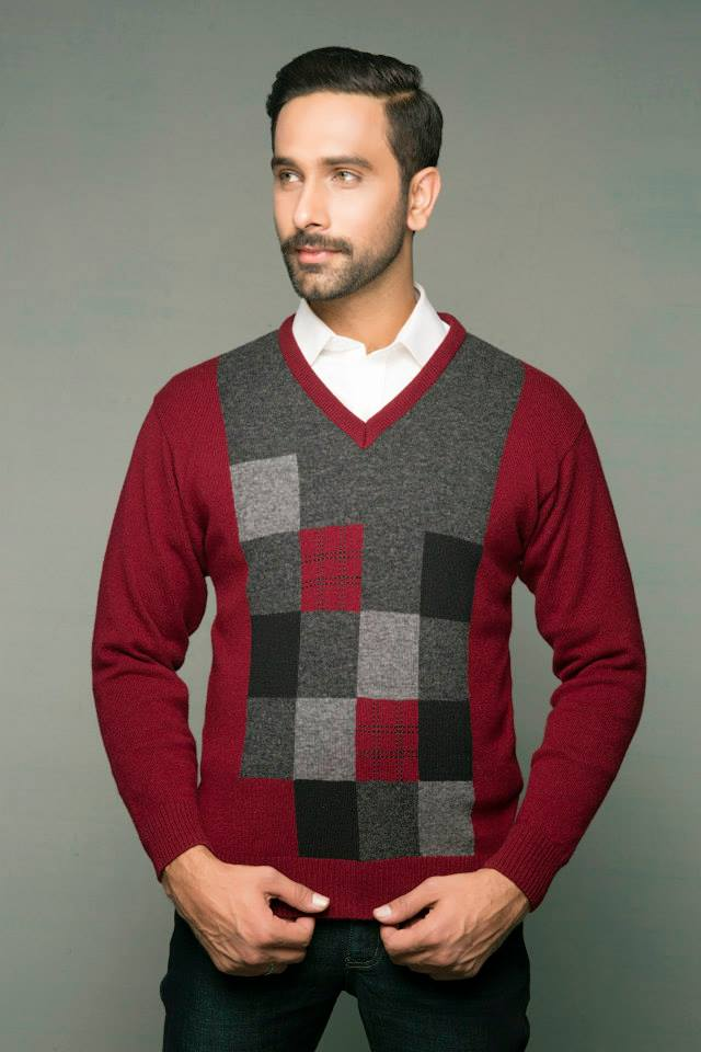 Bonanza Latest Winter Warmth Collection of Sweaters, Jackets & Coats 2014-2015 for Men & Boys (2)