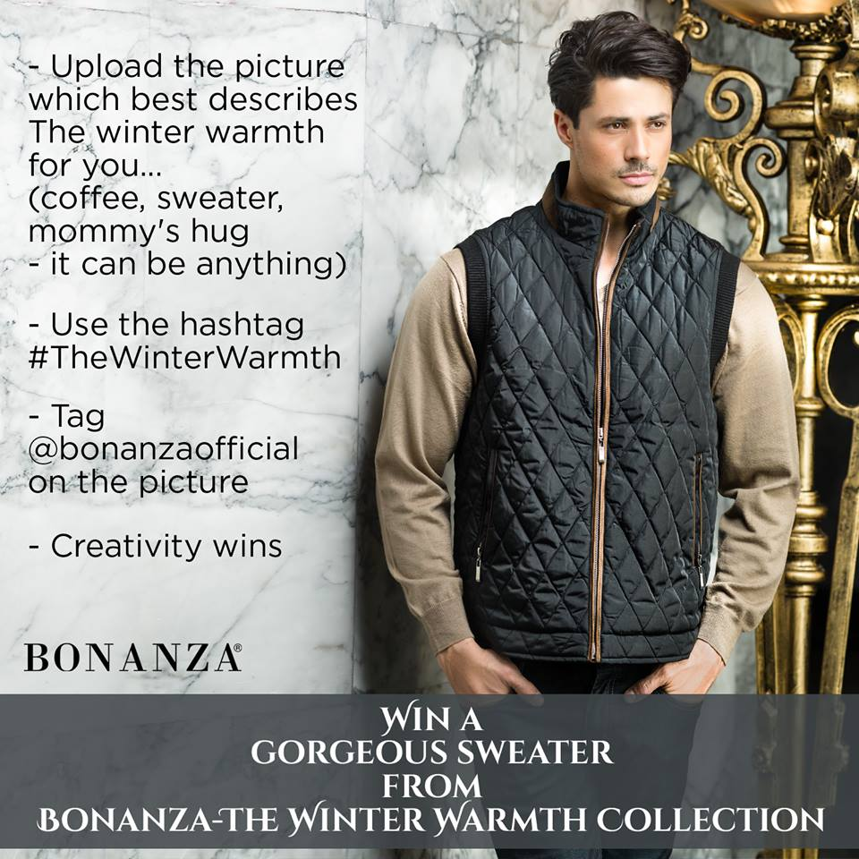 Bonanza Latest Winter Warmth Collection of Sweaters, Jackets & Coats 2014-2015 for Men & Boys (8)