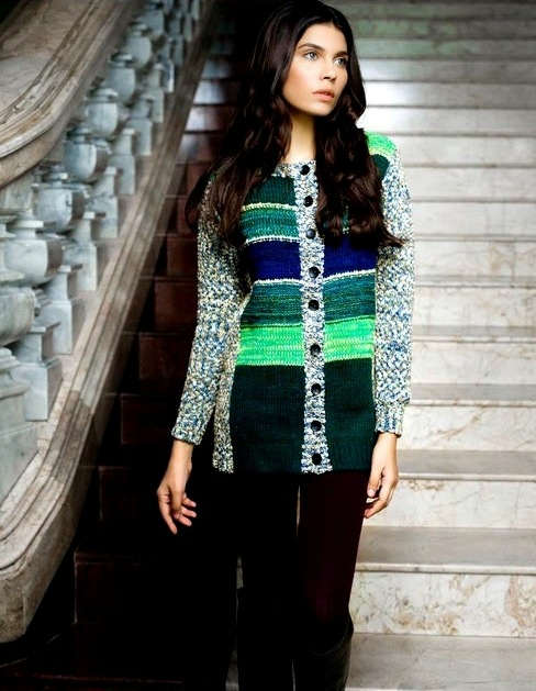 Bonanza Latest Winter Warmth Collection of Sweaters, Jackets & Coats 2014-2015 for Women & Girls (9)
