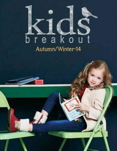Breakout Kids Latest Dresses Designs Winter Fall Collection 2015