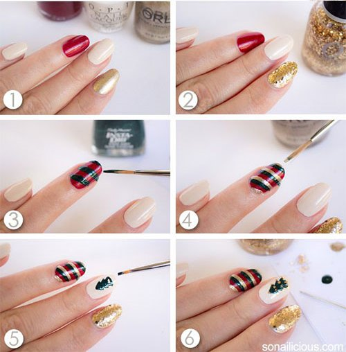 Nail Art Simple Step By Step: Simple & Easy Step By Step Nail Arts Tutorial With